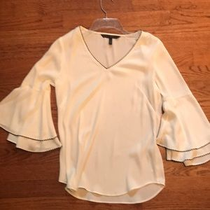 White House Black market pullover top size0